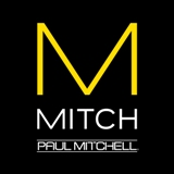 Logo for Paul Mitchell maker of award-winning hair styling products